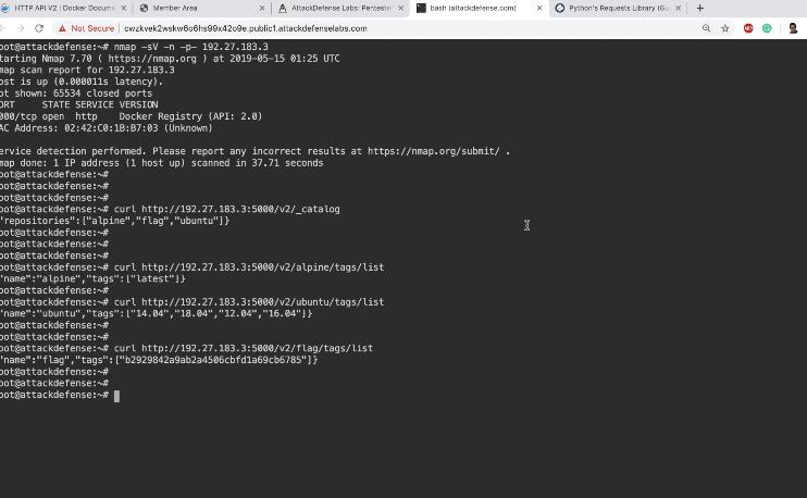 Insecure Docker Registry I