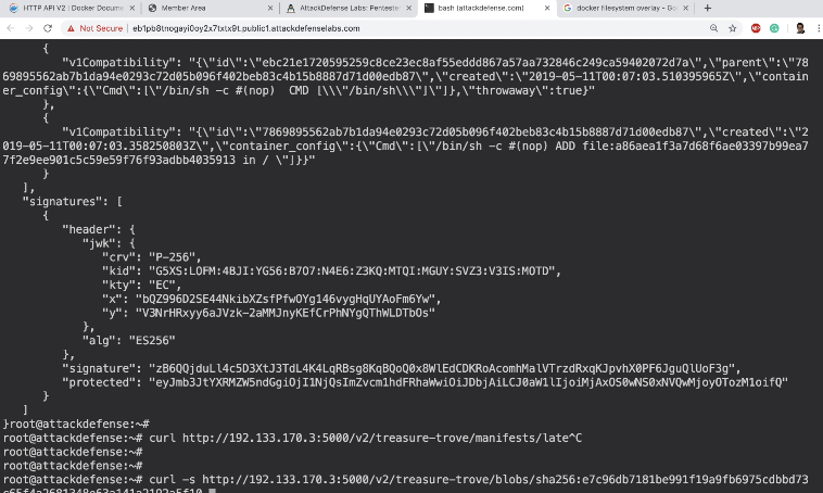 Insecure Docker Registry II