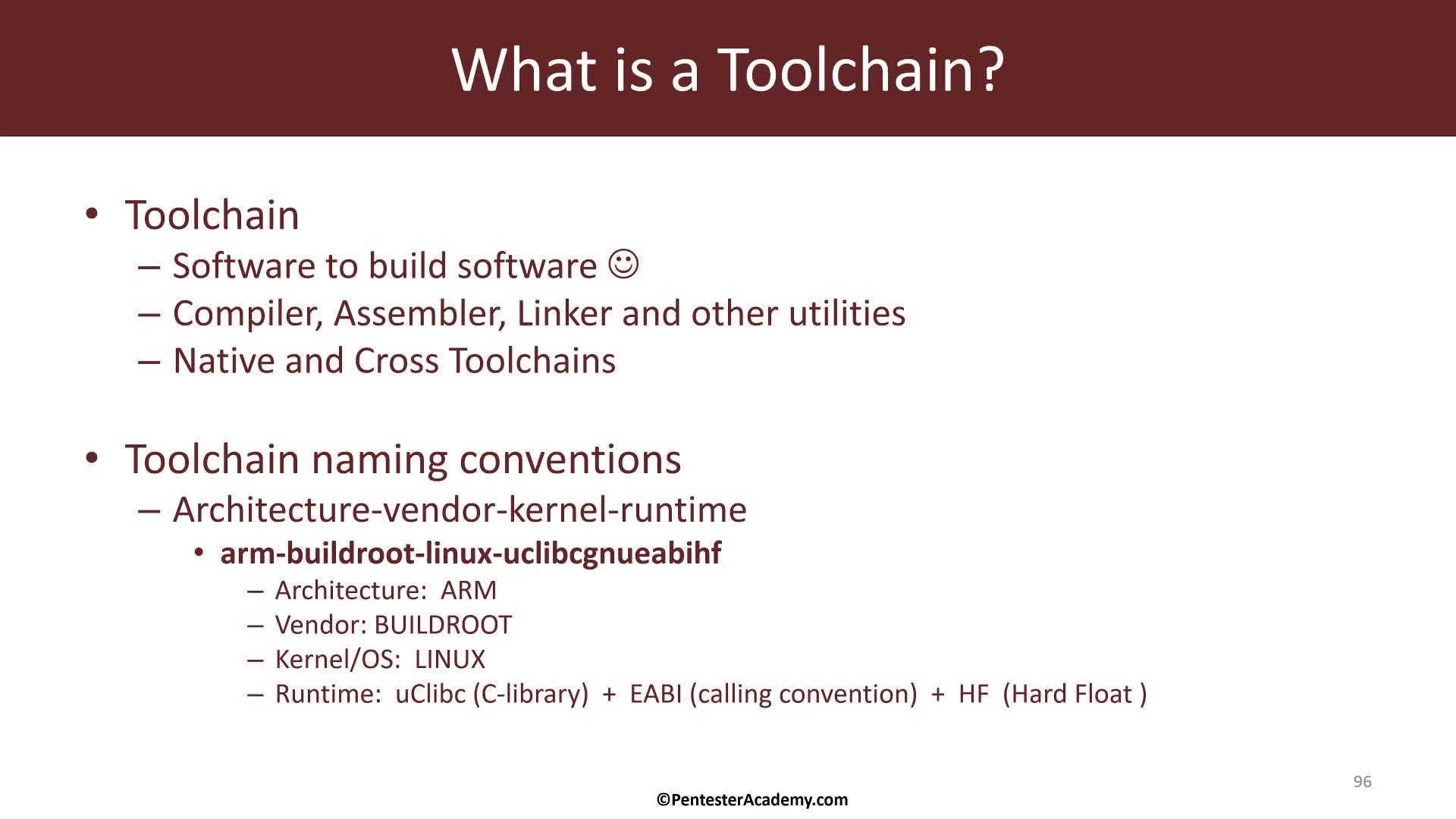 IoT Firmware Internals: The Toolchain
