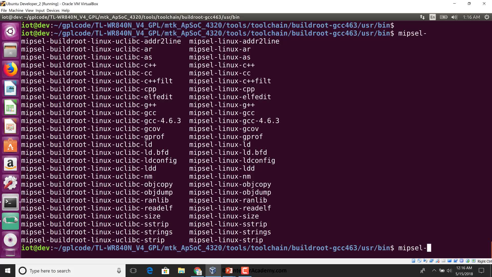 GPL Firmware: Compile Custom Userspace Applications