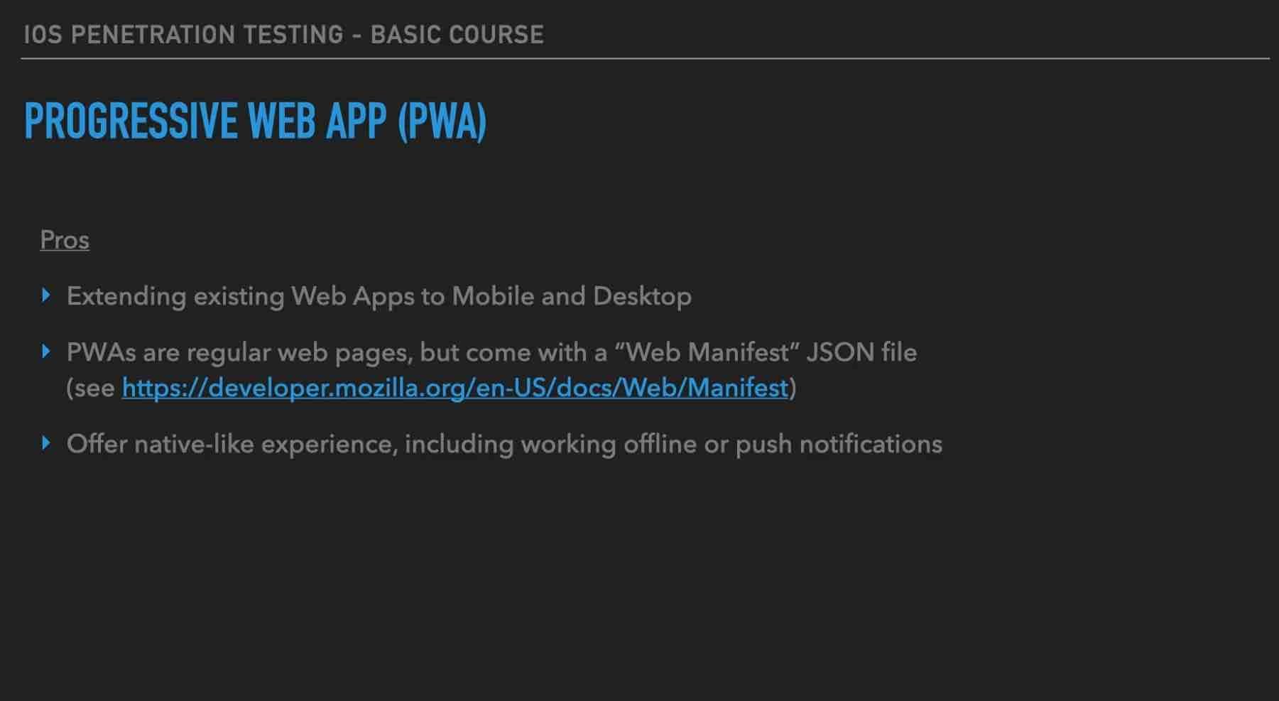 Module 1: Mobile vs Web Testing
