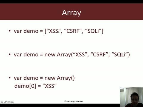 Javascript for Pentesters: Data Types