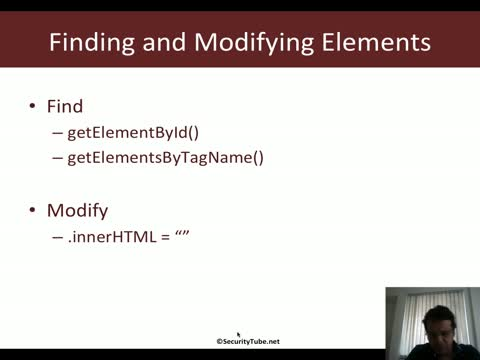 Javascript for Pentesters: HTML DOM