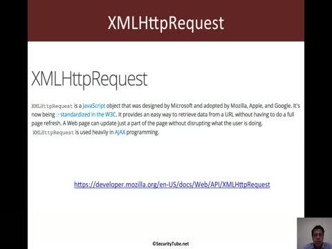 Javascript for Pentesters: XMLHttpRequest Basics