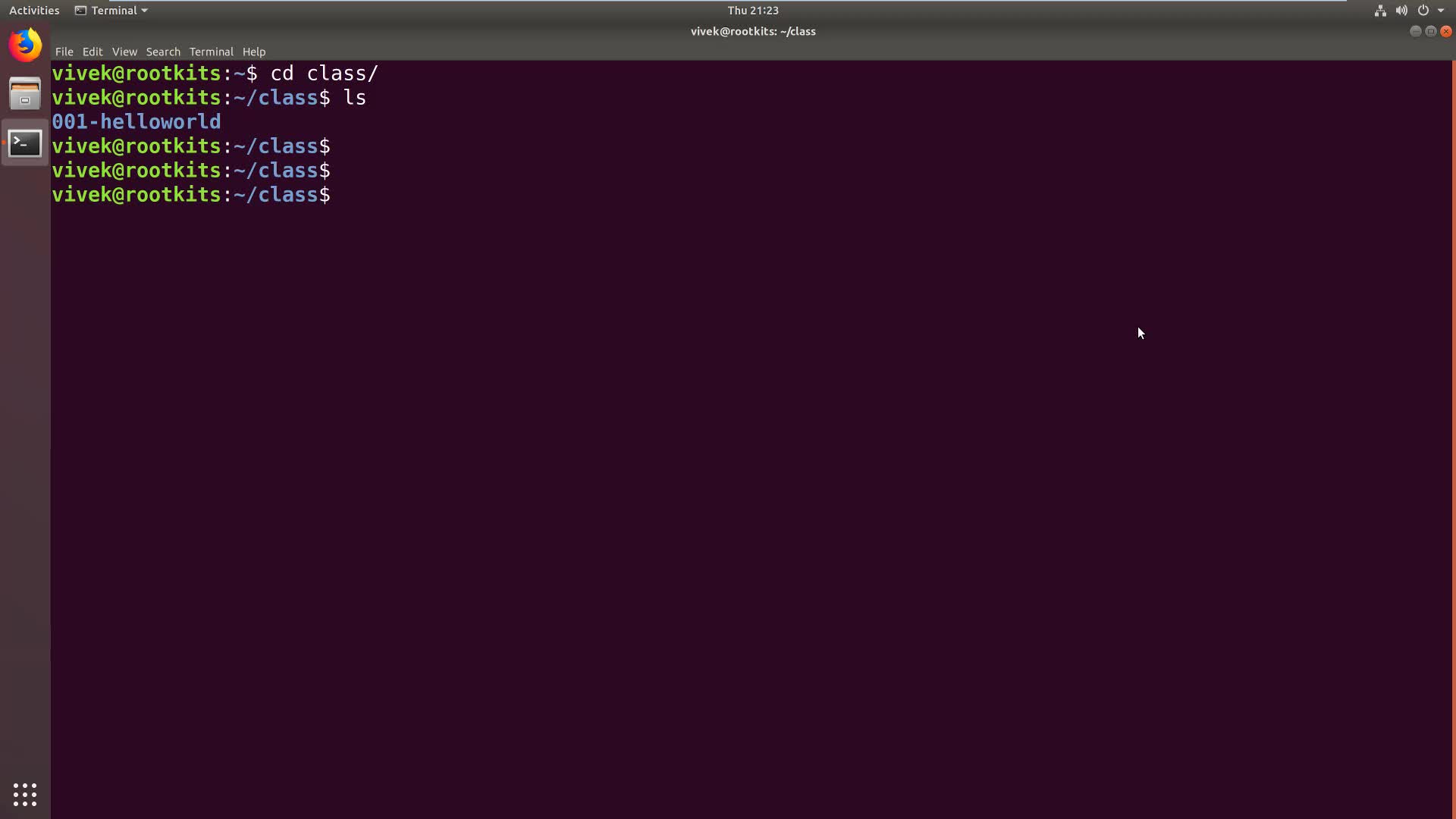 Kernel Module Basics: Messages with File, Function and Line Info