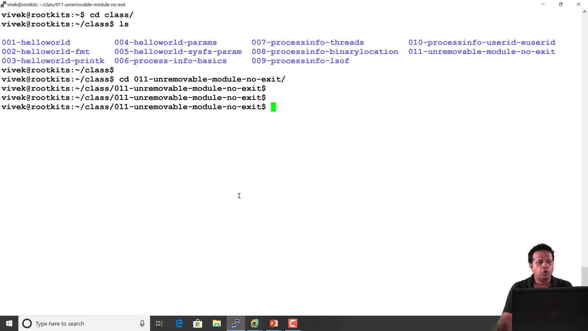 Rootkit Behavior: Unremovable Module: No Module Exit Routine