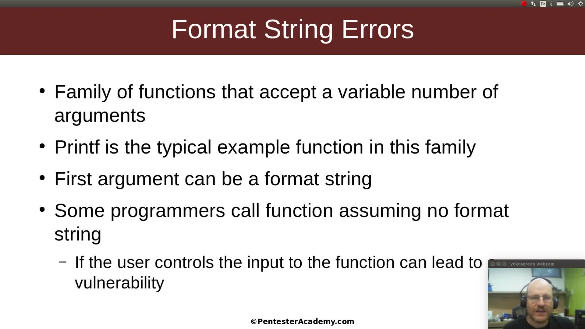 Format String Flaws Part 1: The Basics