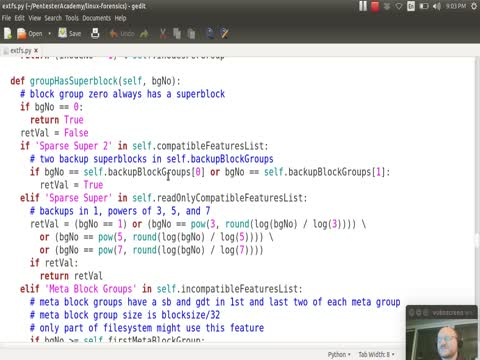 Filesystem Analysis: Combining Superblock and Group Descriptor Information