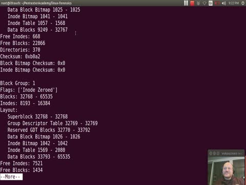 Filesystem Analysis: Running our Final Script