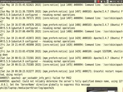 Filesystem Analysis Part 1: Webserver Logs