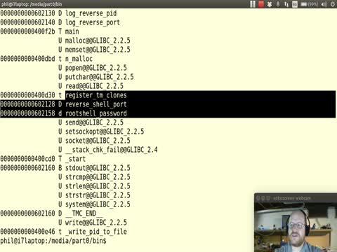 Malware Part 4: using NM