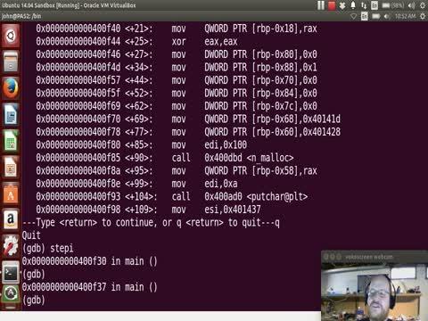 Malware Part 14: Running xingyi_bindshell in GDB