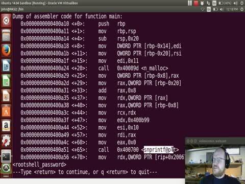 Malware Part 15: Running xingyi_bindshell in GDB