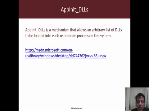 DLL Injection using AppInit_DLLs Part 1