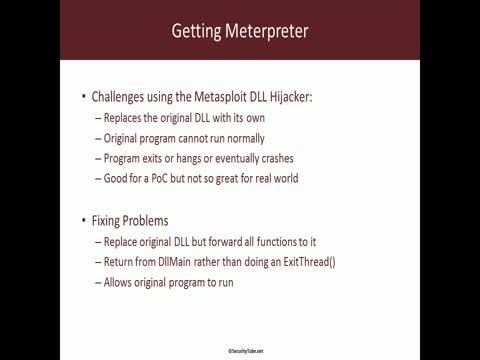 DLL Function Forwarding Basics: Getting Meterpreter