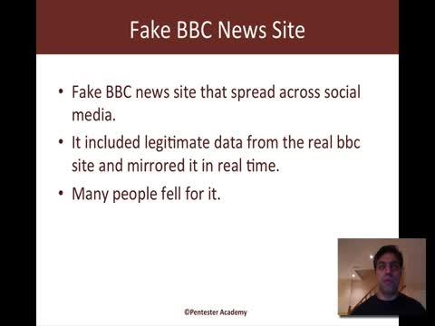 Fake News Website