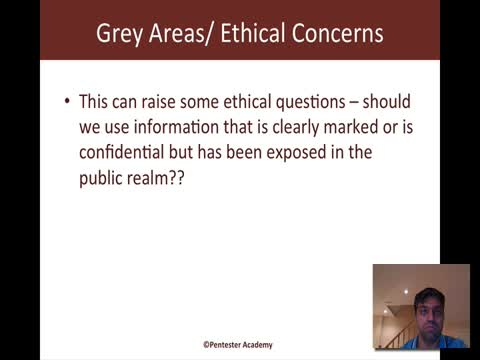 Grey Areas and Ethical Concerns