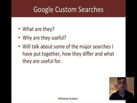 Google Custom Searches