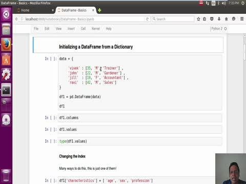 Pandas Dataframe: Basics