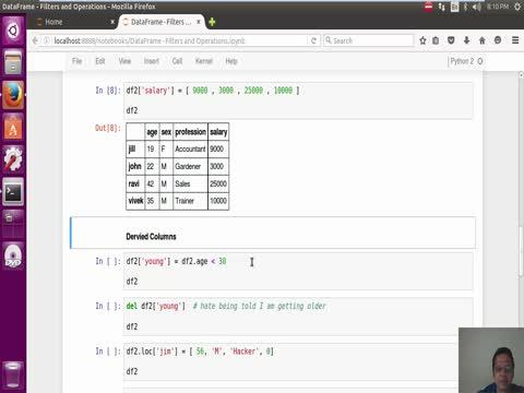 Pandas Dataframe: Logical Operations