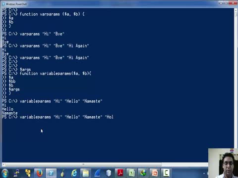Functions in Powershell Part 2