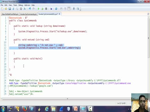 Using .NET in Powershell Part 4
