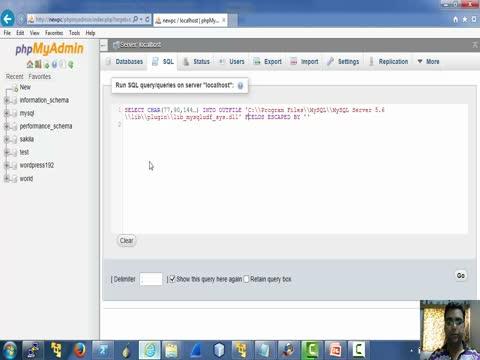 PHPMyAdmin Part 2