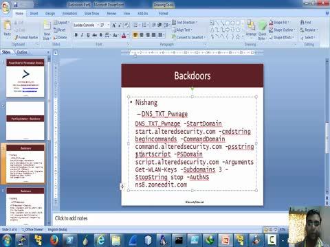 Backdoors Part 1