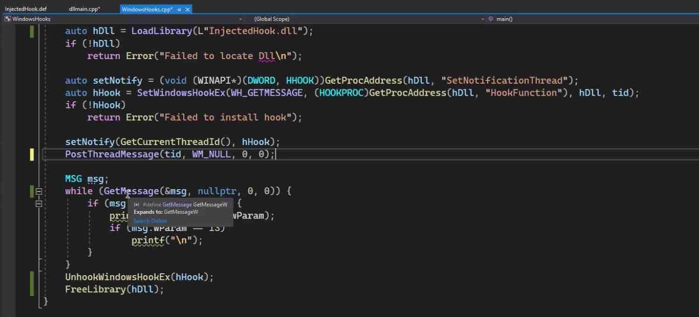 Module 3: Windows Hooks