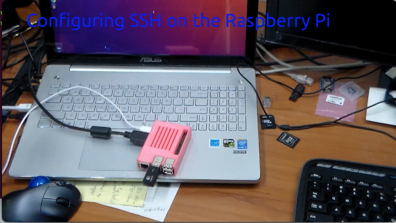 Configuring SSH on the Raspberry Pi