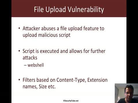 File Upload Vulnerability Basics