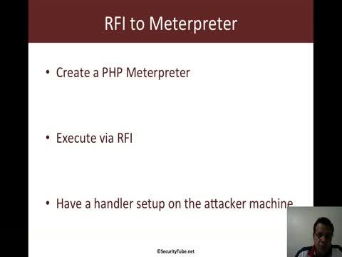 RFI to Meterpreter