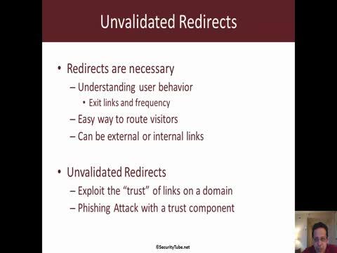 Unvalidated Redirects