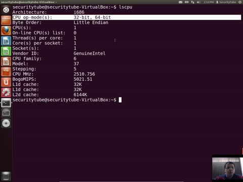 Getting the CPU Info on Linux