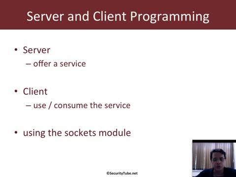 Module 3: Client - Server Programming Basics