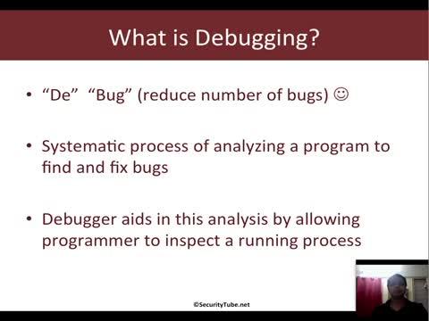 Module 6: PyDbg  Basics