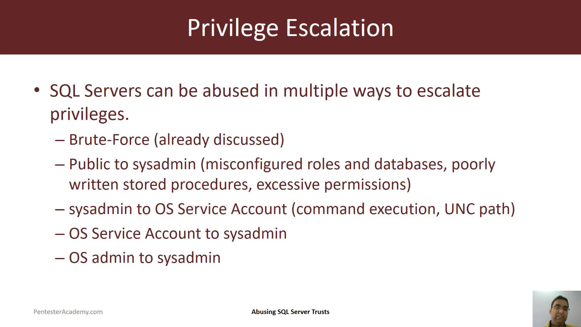 Privilege Escalation: Impersonation