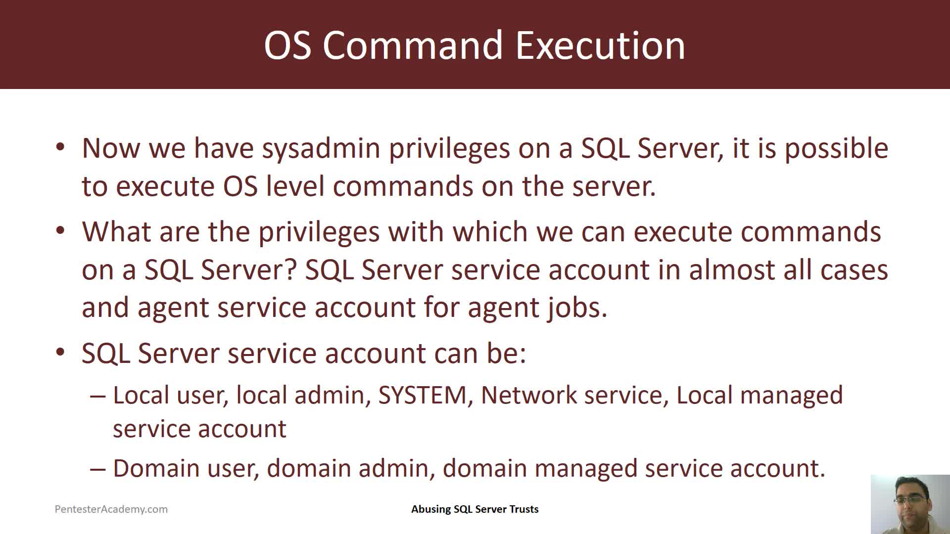 Command Execution Part 1