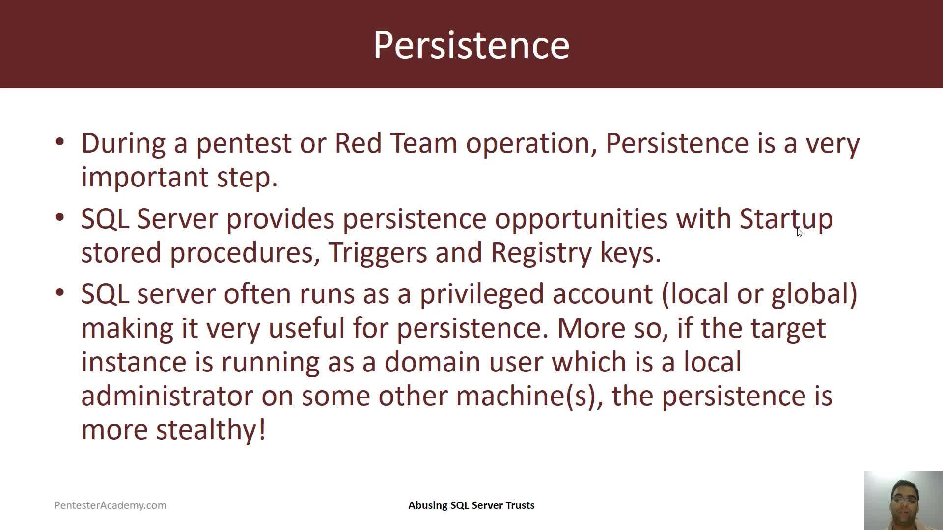 Persistence