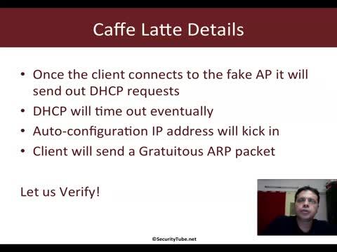 Caffe Latte Attack Demo
