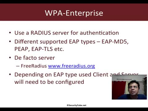 Setting up FreeRadius-WPE