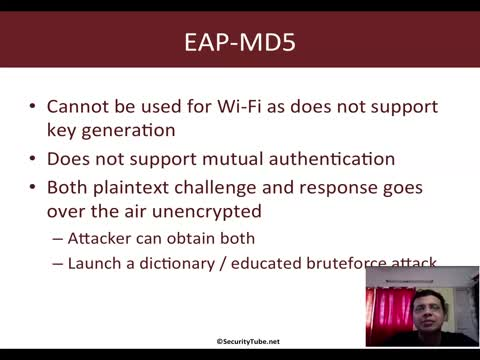 Cracking EAP-MD5 with Eapmd5pass