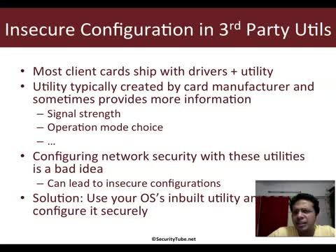 Insecurity in 3rd Party Wi-Fi Utilities