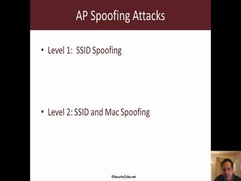 Detecting AP Spoofing Attacks