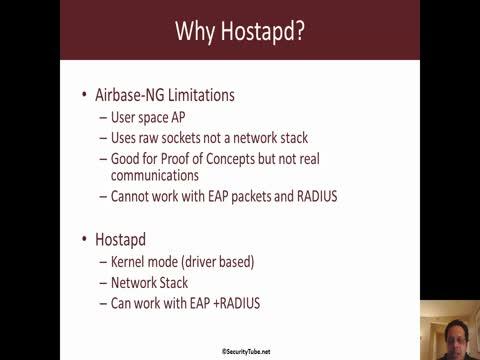 Hostapd Basics