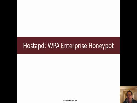 Hostapd: WPA Enterprise Honeypot