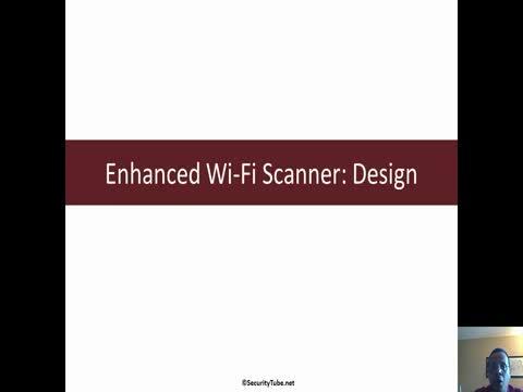Enhanced Wi-Fi Scanner: Design