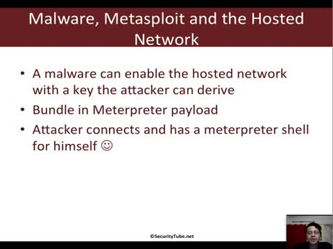 Malware, Metasploit and the Hosted Network