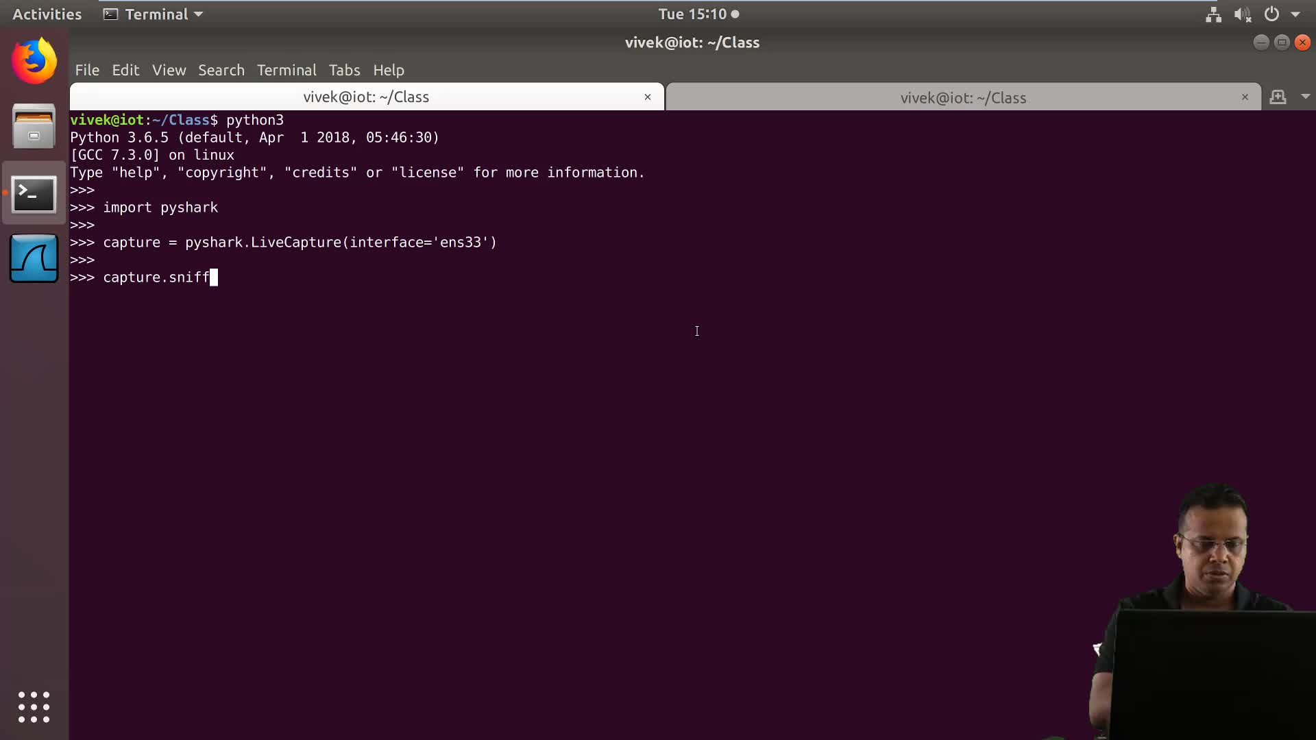Tshark: Python Automation: Python Deep Dive