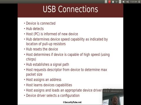 USB Basics: Device Connecting